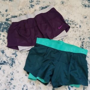 BUNDLE! NIKE dri fit mesh running shorts